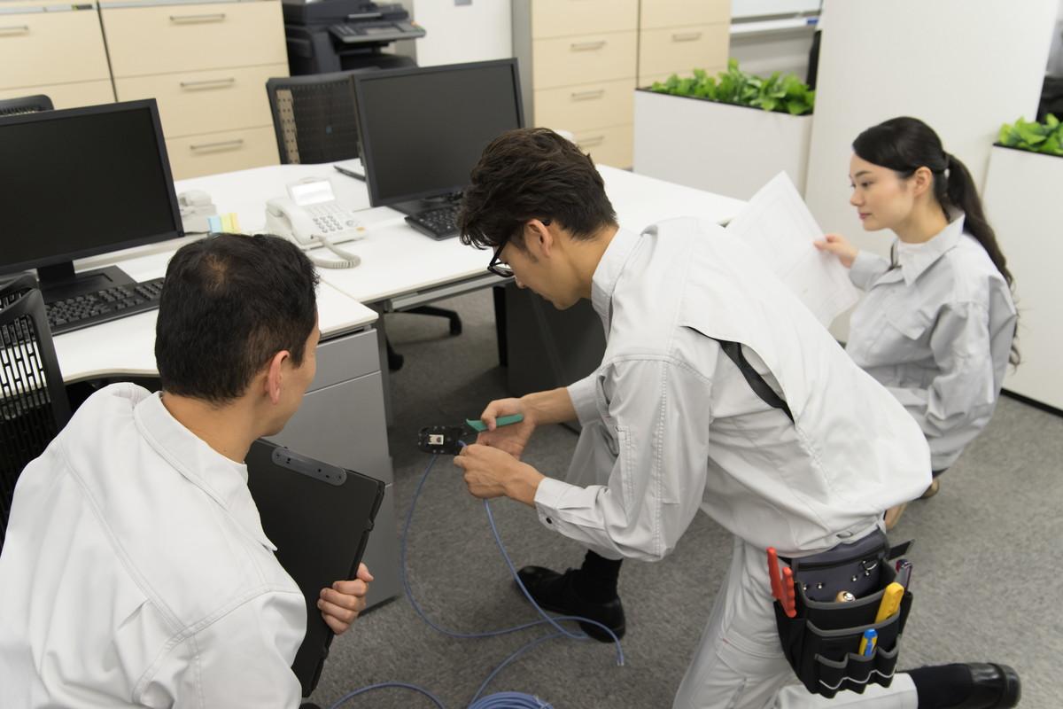オフィスのLAN配線工事の流れや方法・注意点を徹底解説