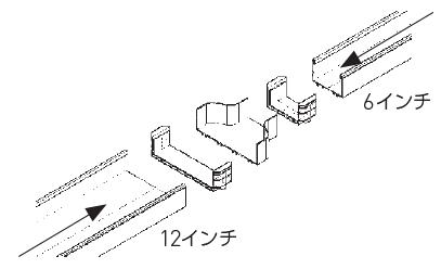 レデューサーによるサイズ変換