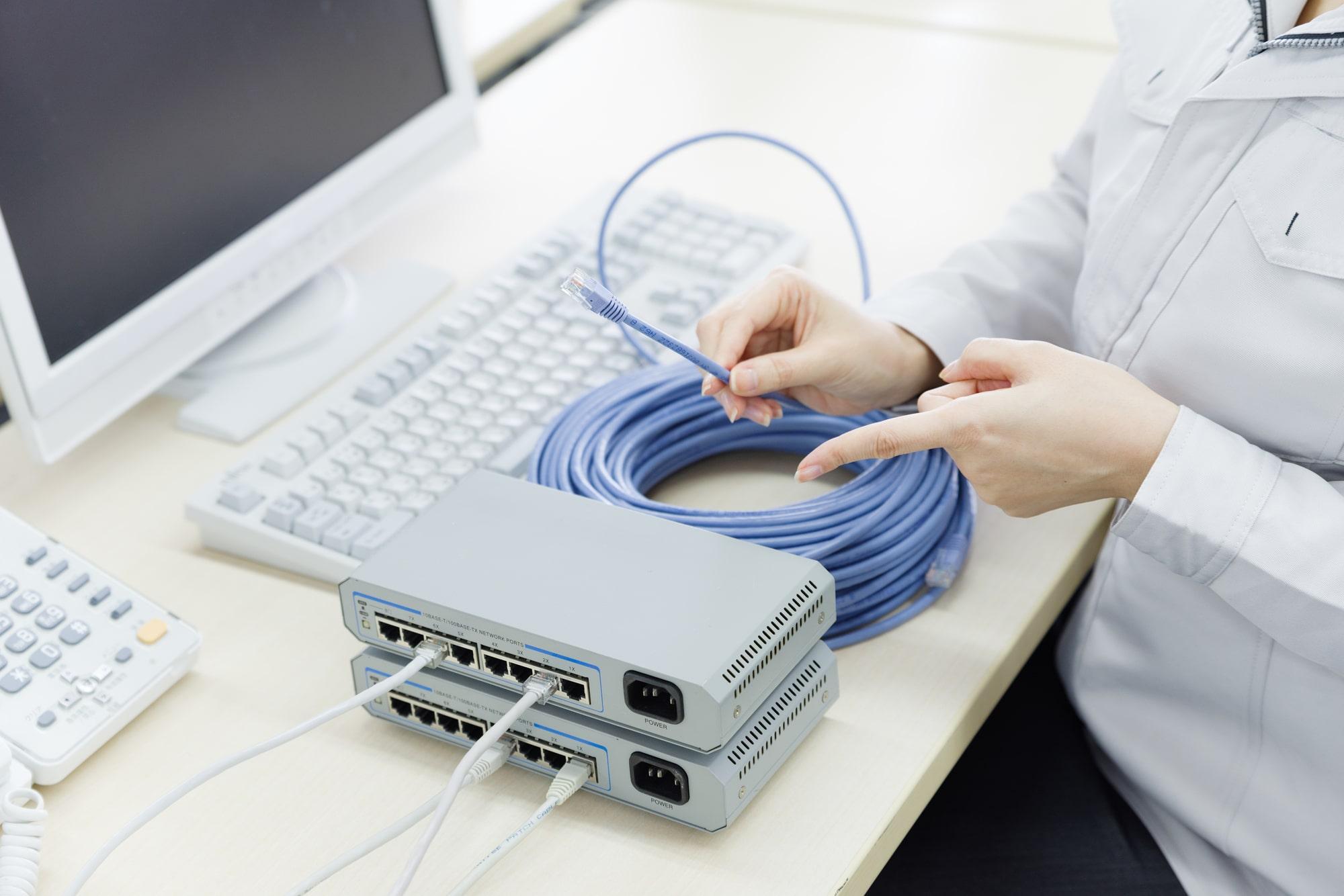 低速の救世主!LANケーブルの接続方法と注意点
